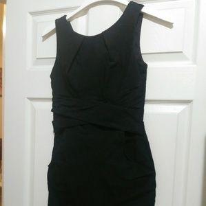 Teeze Me black formal dress